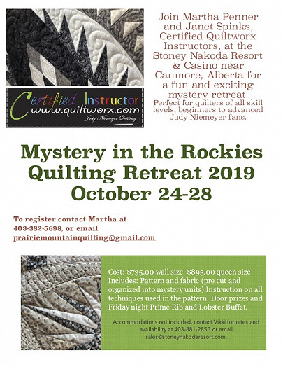 Mystery in the Rockies 2019